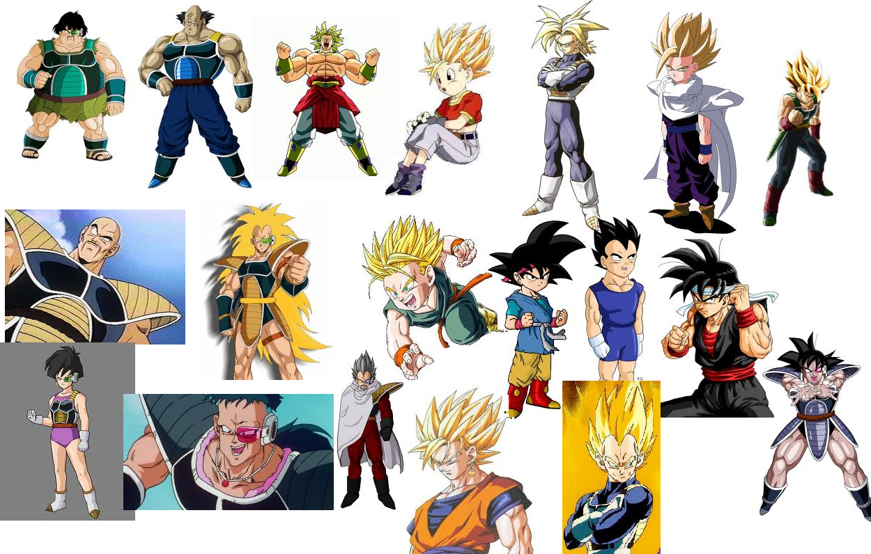 images of dragon ball z characters