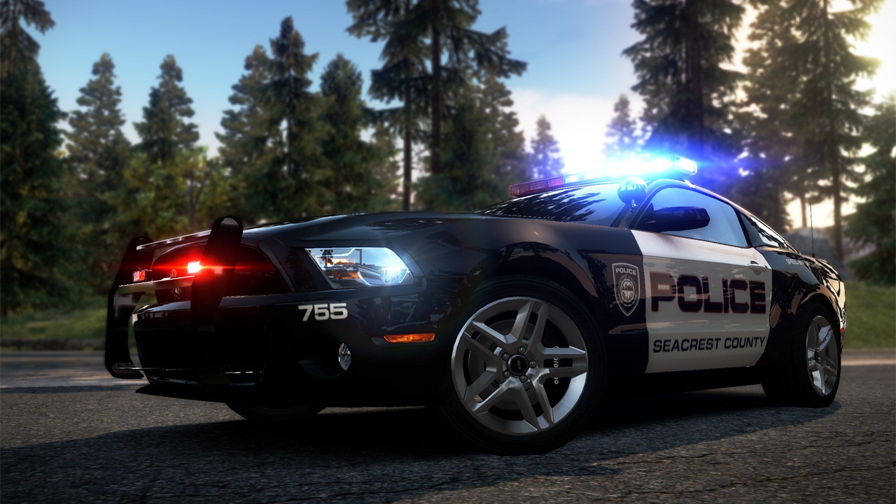 Ford Shelby Gt  Police Car