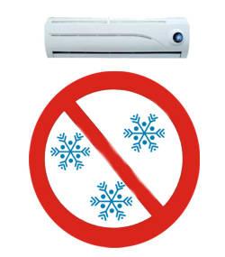 En cuanto hay que poner el aire acondicionado for Temperatura ideal aire acondicionado invierno