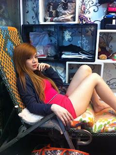 Lin Sweet Facebook Sweet Girl Sexy Tights 1