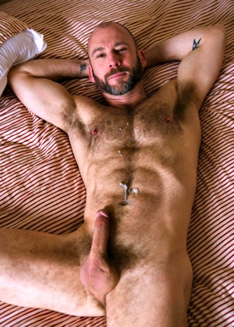 assed gay hairy man