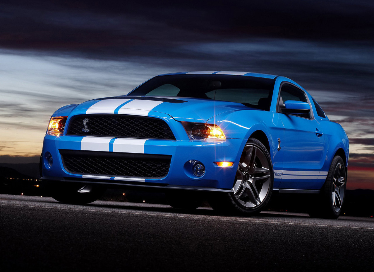 ford mustang in blue wallpaper ford mustang wallpaper