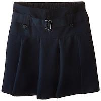 Girls' Belted Drop-Waist Skirt