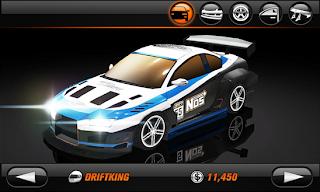 تحميل لعبة سباق السيارات والانحراف المميزة لهواتف ويندوز فون ونوكيا لوميا مجاناً Drift Mania Championship 2 Lite xap
