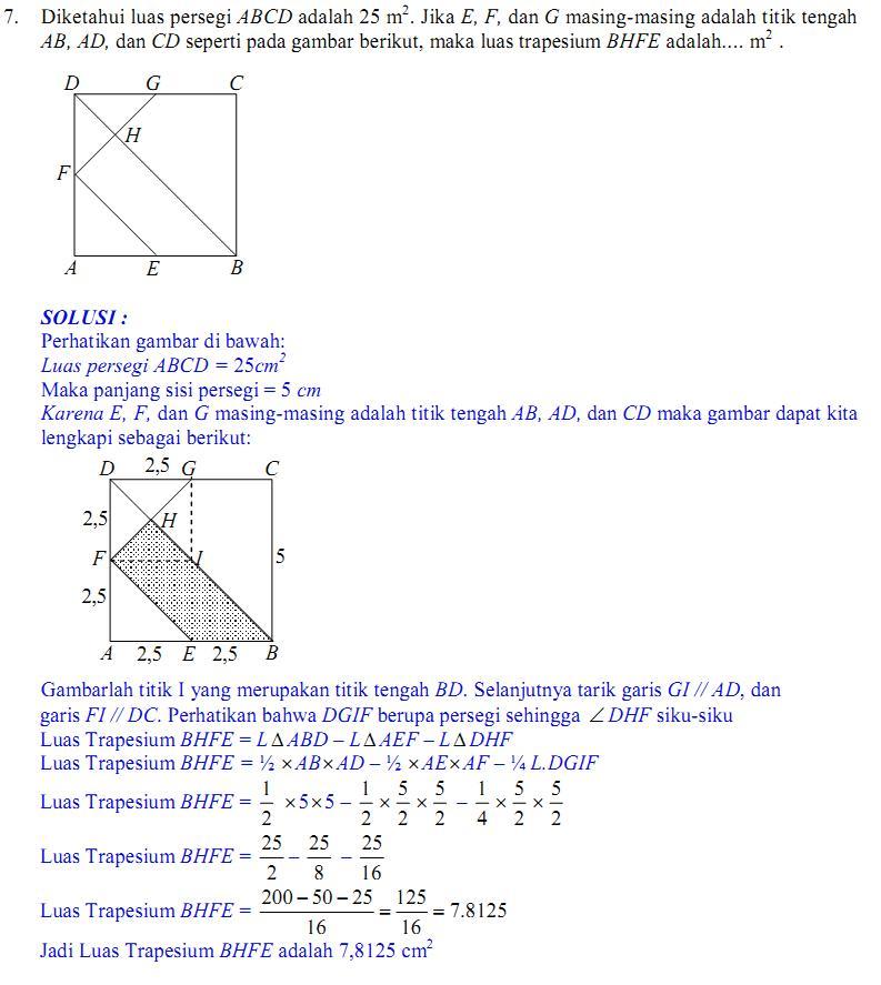 Olimpiade Matematika Smp Download Pembahasan Soal Soal Osn