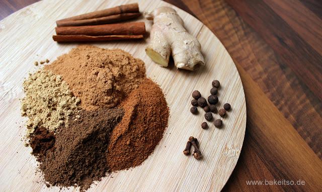 Vegane Pumpkin Spice Gewürzmischung Zutaten