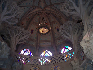 Interior of Disneyland Paris Castle