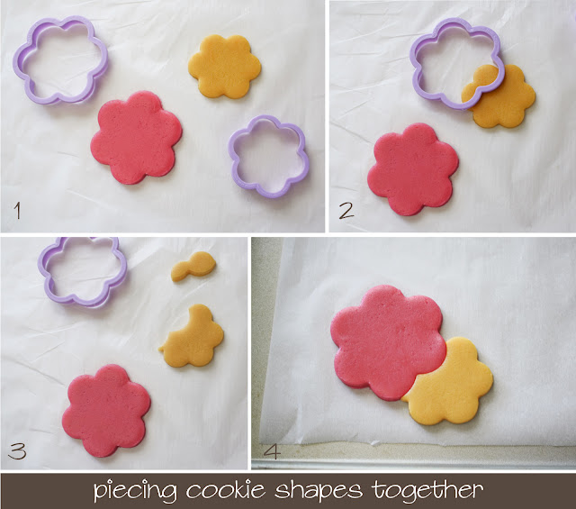 tutorial for combining two cookie cutters