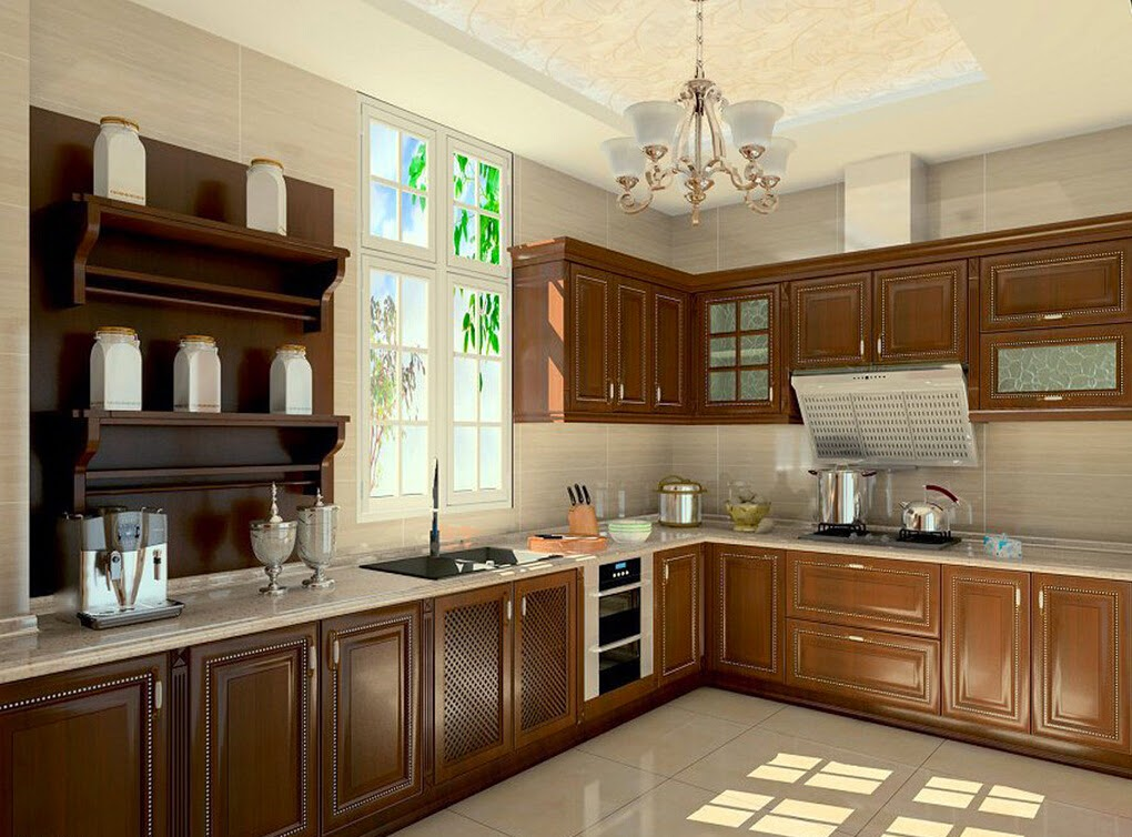 Desain Kitchen Set Klasik Raja Disain Interior