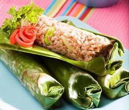 Nasi Merah Bakar - Menu Buka Puasa Yang Praktis