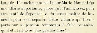 Maria Mancini y Luis XIV