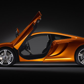 McLaren MP4 12C Sideways wallpaper
