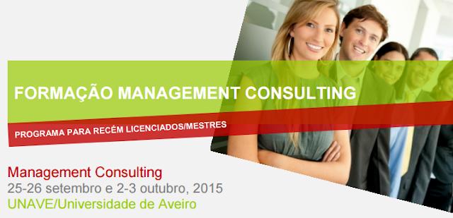 Formação Management Consulting em Aveiro