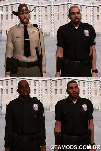 Pack de Policiais do GTA V