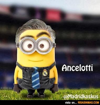 Minion de Ancelotti Real Madrid