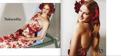 Lässige Kleidung und Kleider - Katalog Tintoretto Frühling - Sommer 2012