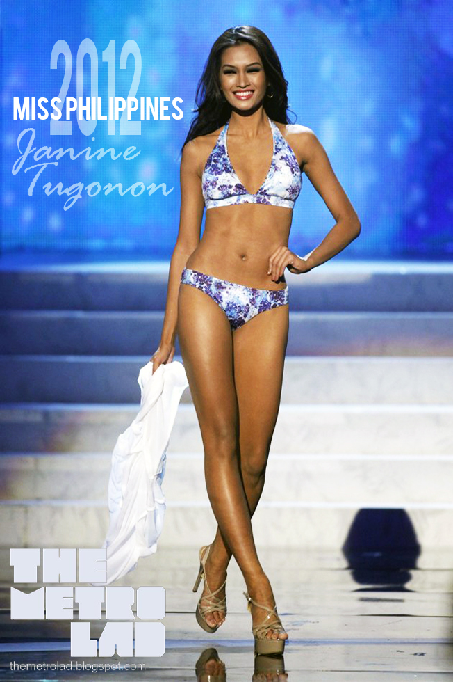 Miss Universe 2012 First Runner Up, Miss Philippines: Janine Mari Raymundo Tugonon