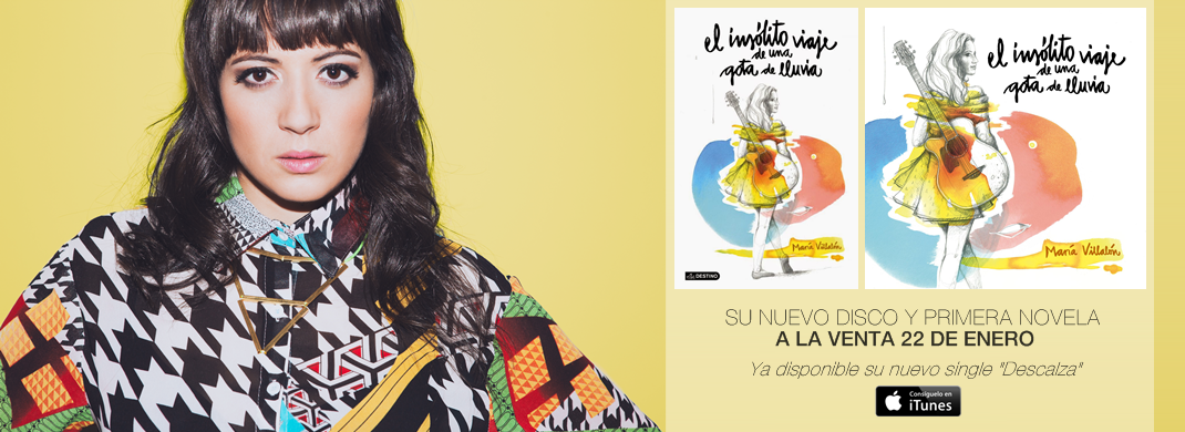 """María Villalón - Ya disponible su nuevo single """"Descalza"""""""