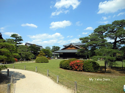 Honmaru garden - Nijo Castle in Kyoto, Japan