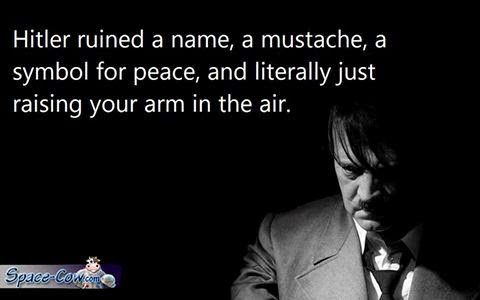 funny arm Hitler picture
