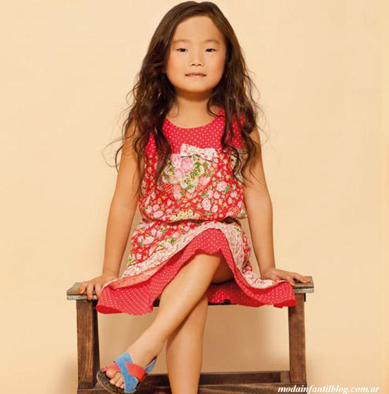 vestidos infantiles primavera verano 2014 nucleo nenas