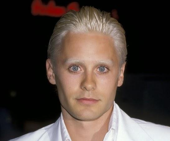 jared leto blonde hair, blond hair