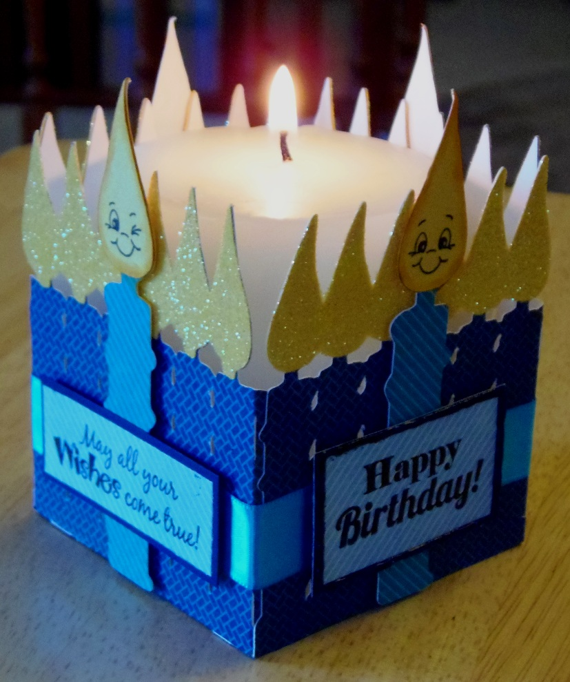 Birthday Candles Candle Holder