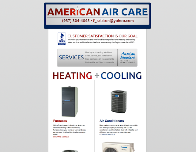 American Air Care Website