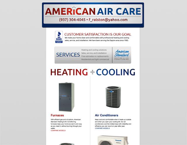 American Air Care Website