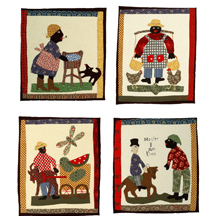 American Craftsmen Show Applique Quilter Sandra Malamed