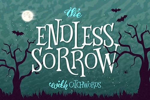 Endless-Sorrow-font