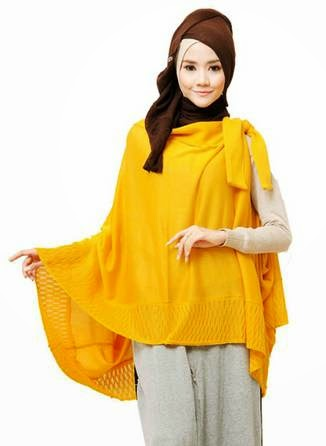 Foto Desain Baju Atasan Wanita Muslim Dewasa Terbaru 2015