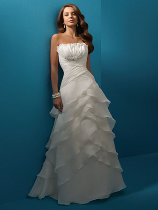 Beach Wedding Dresses On : Beautiful beach wedding dresses summer