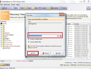 recovery  Deleted Files Or Data dari Recycle bin Setelah
