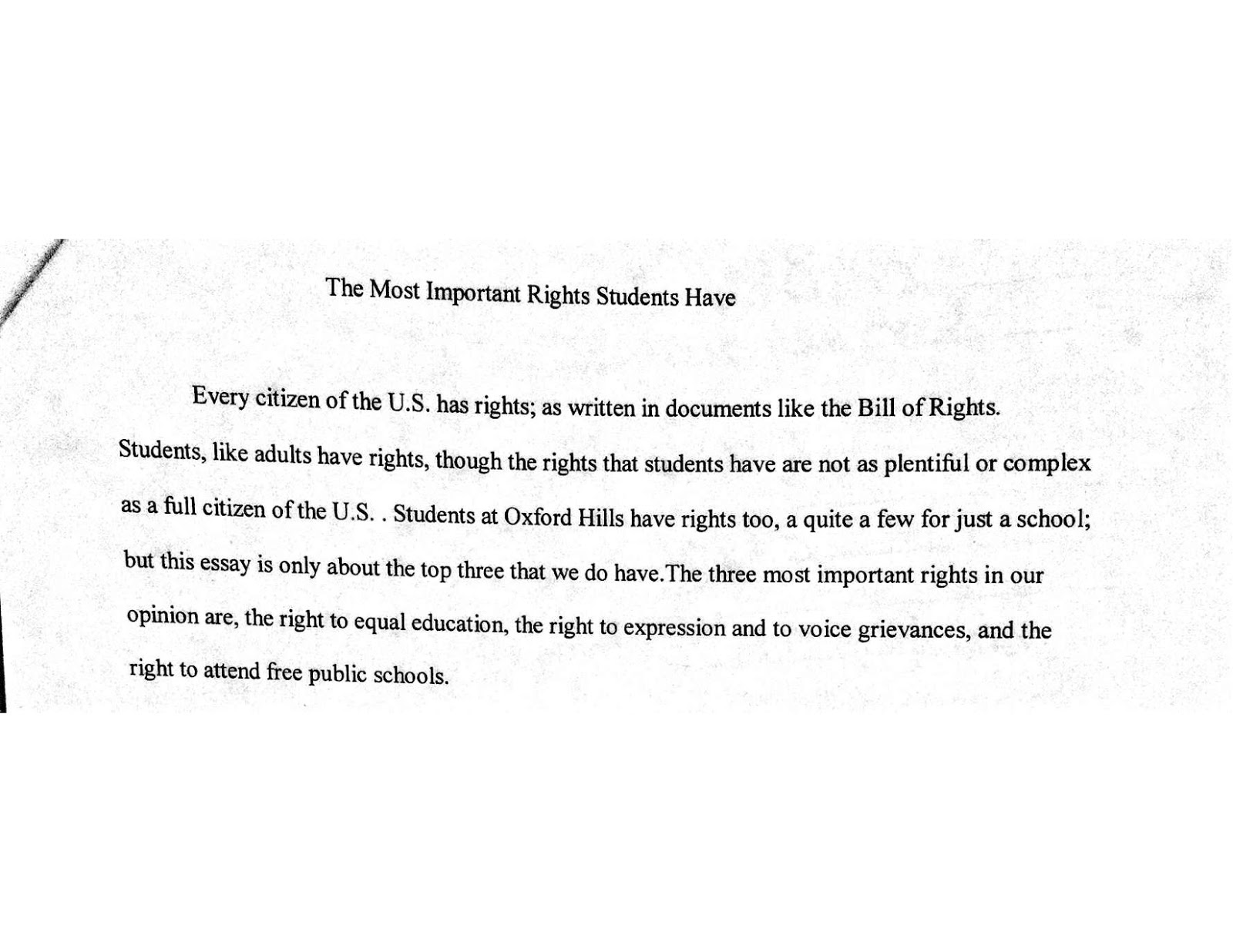 dialogue essay example