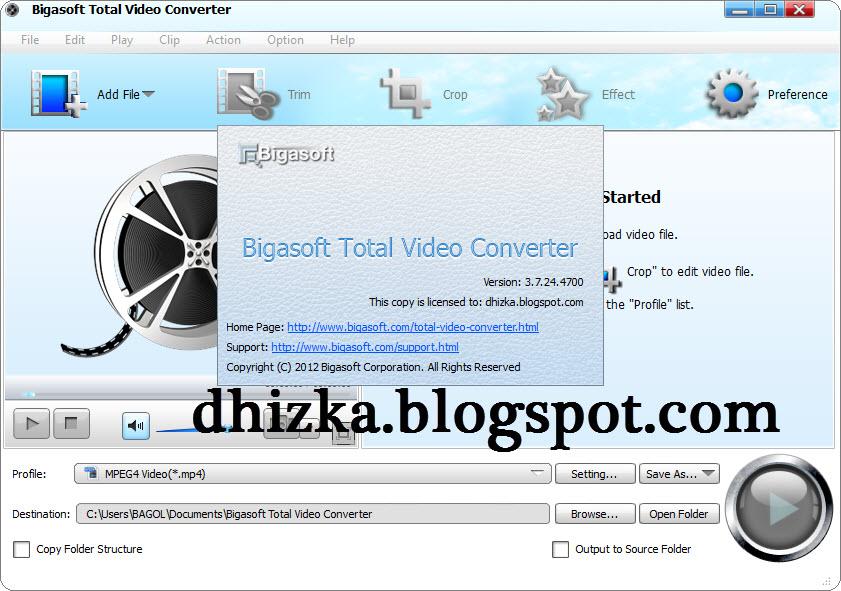 serial number bigasoft total video converter mac