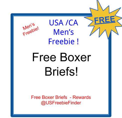 imag USA Freebie - Men's Boxer Briefs