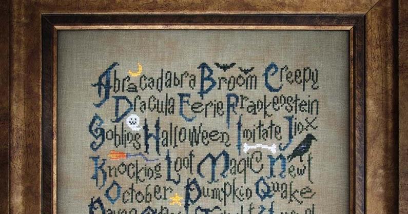 Cottage Garden Samplings Halloween Sampler