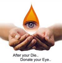 After your Die Donate Your Eye Please
