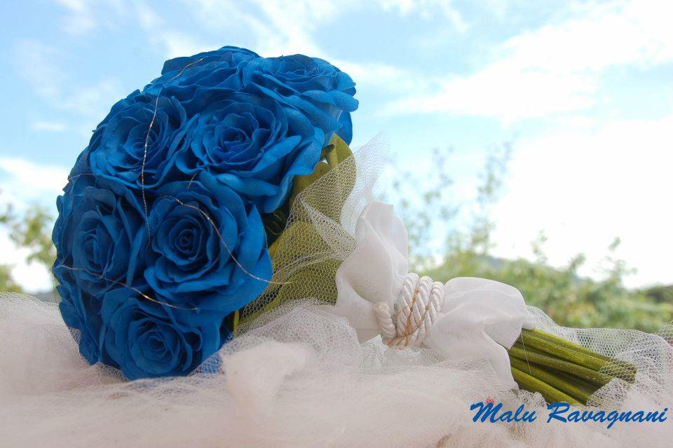 Ramos De Flores Azules Fotos - 16 ramos de novia con flores azules Yahoo Tendencias