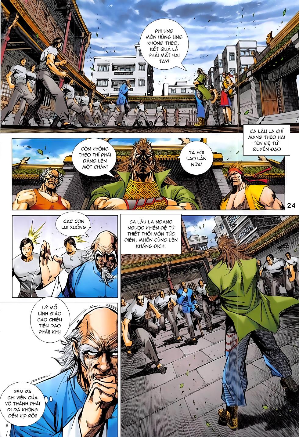 Tân Tác Long Hổ Môn chap 793 Trang 24 - Mangak.info
