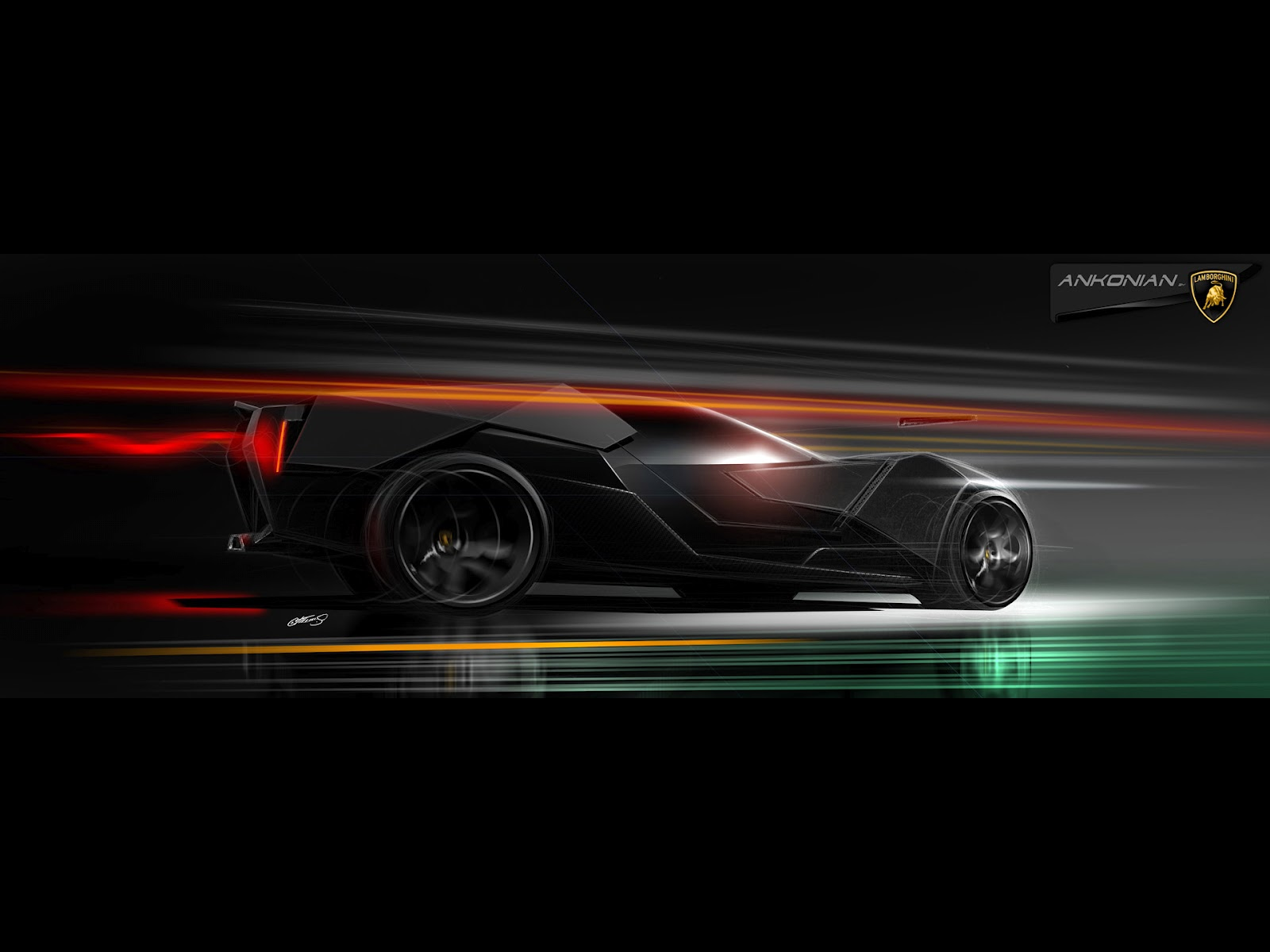 Lamborghini Ankonian Concept Car | HD Wallpapers (High Definition ...