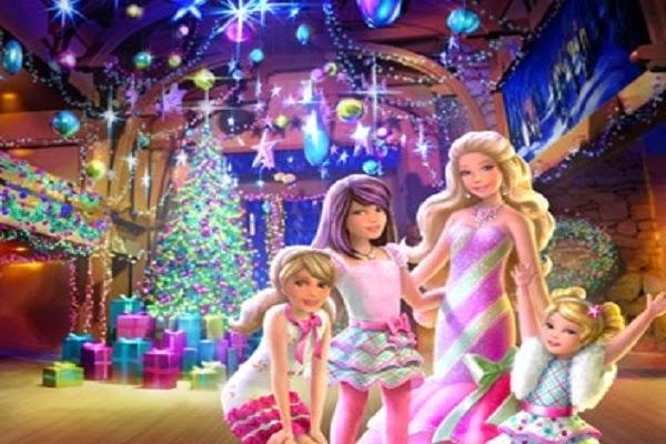regarder un film de Barbie Un Merveilleux Noël 2011   Films de Barbie Princesses