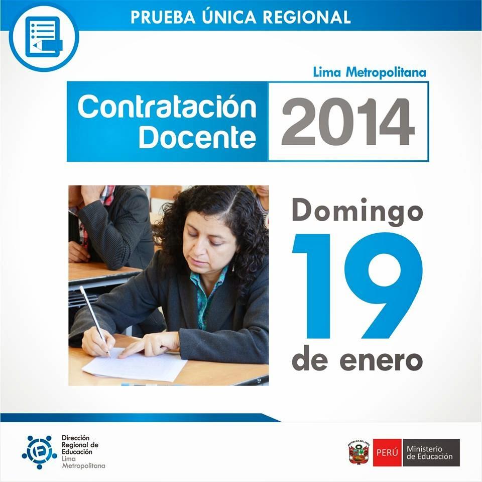 resultados examen contrato docente 2014 19 de enero la pagina web de ...