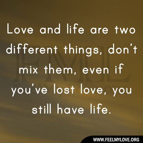 Sad Quotes About Love Lost : Sad Quotes on Lost Love Sad Love Quotes Feel my Love