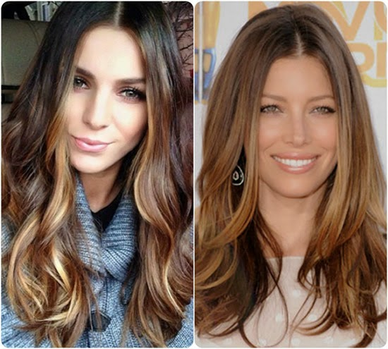 brunette hair with highlights red and caramel instagram