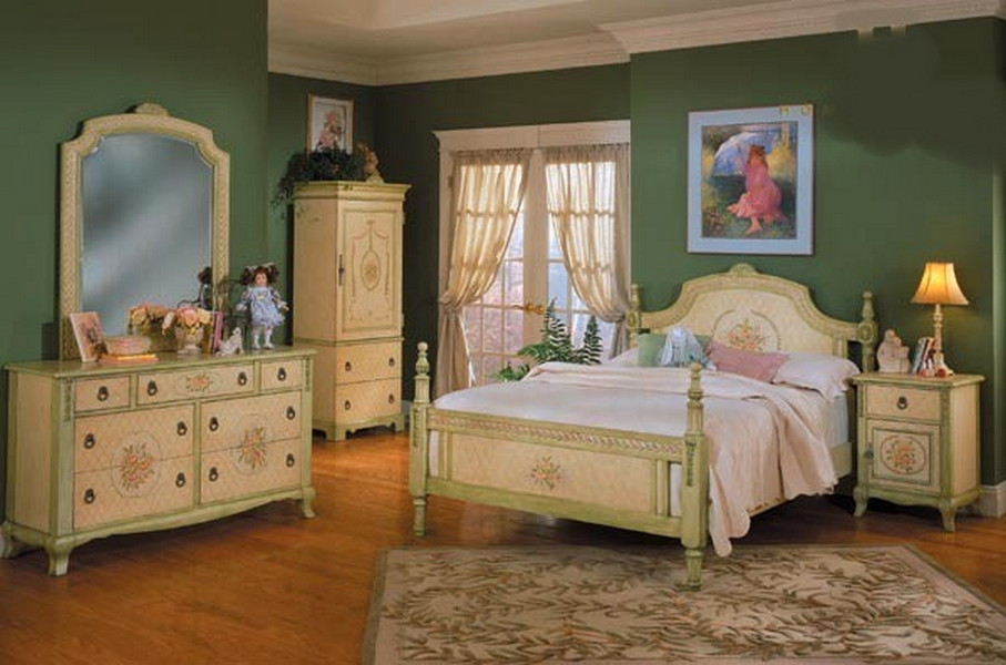 Bedroom decorating ideas bedroom interior inspiring for Country bedroom furniture