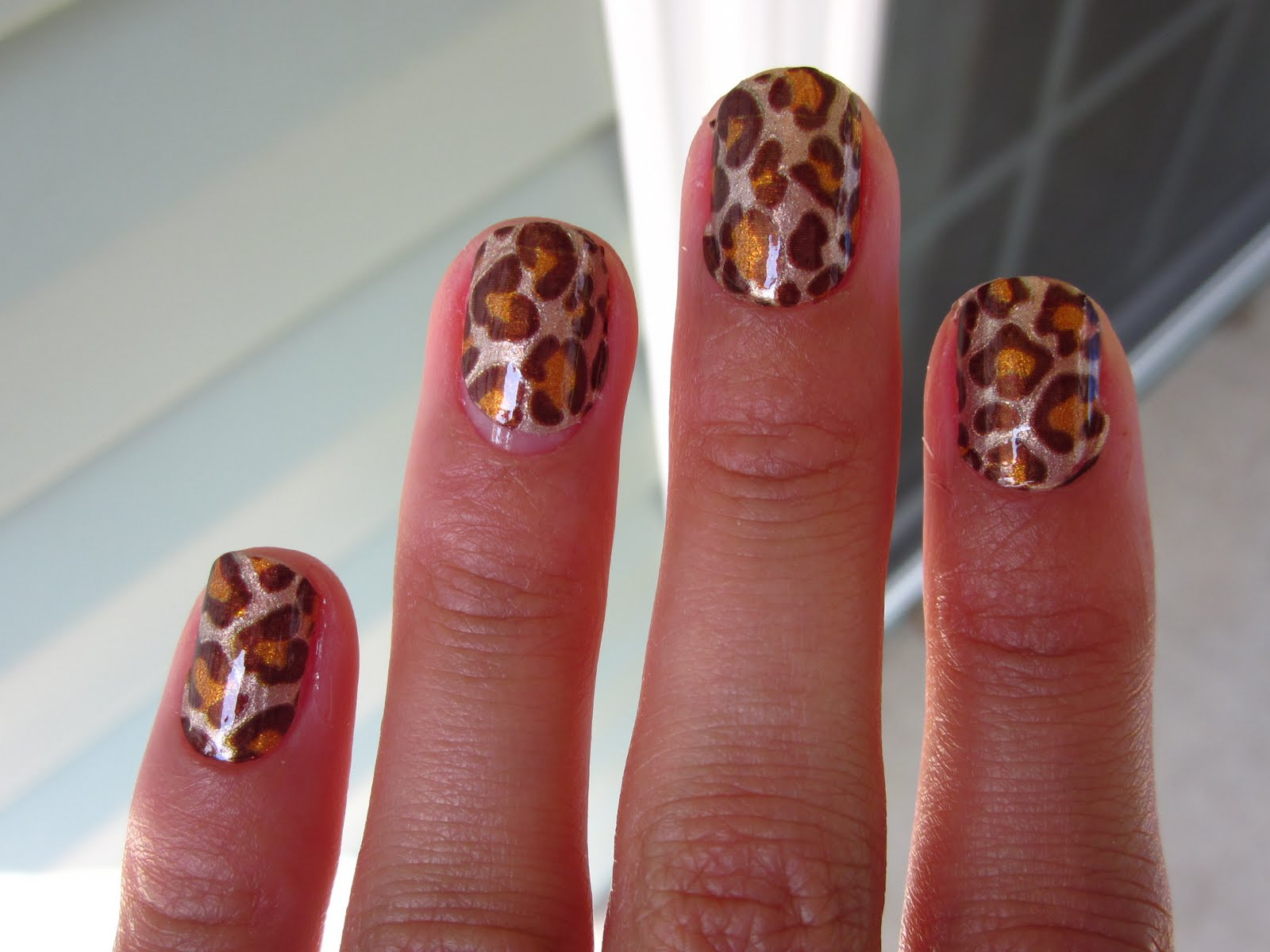 The Astonishing Simple leopard print nail designs pictures Image
