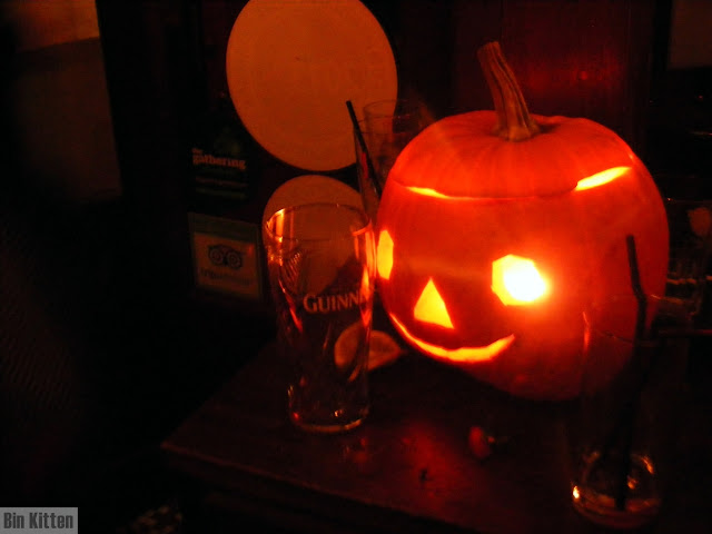 Pumpkin lantern, Film Fatale Halloween party