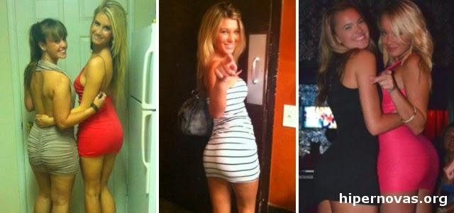 Hipernovas: Mulheres com vestidos curtos e colados são capazes de deixar qualquer homem babando (60 Imagens + 02 Gifs)